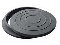 люк полимерпесчаный черный до 2т