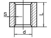 муфта стальная чертеж