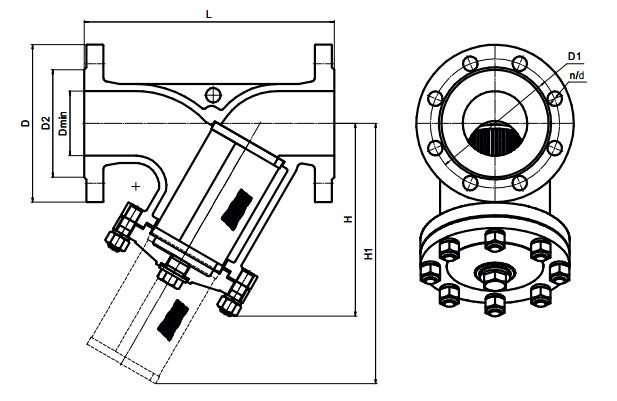 фильтры стальные чертеж